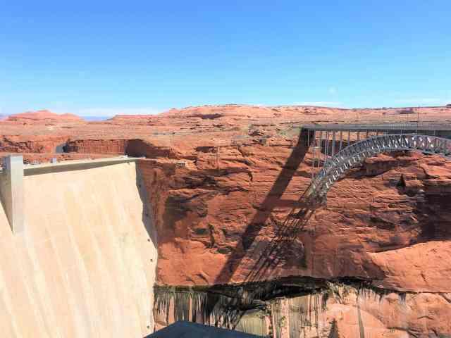 Glen Canyon Bridge and Dam