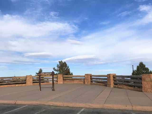 Agua Canyon - Parking Lot.  Things To Do In Bryce Canyon National Park