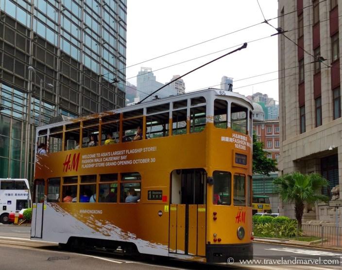 tram hong kong