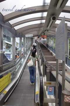 escalator-Hong Kong