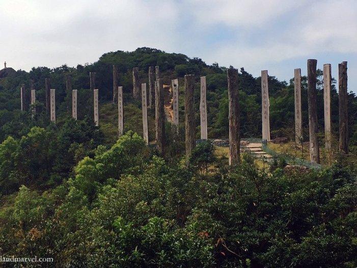 HONG KONG: Lantau island