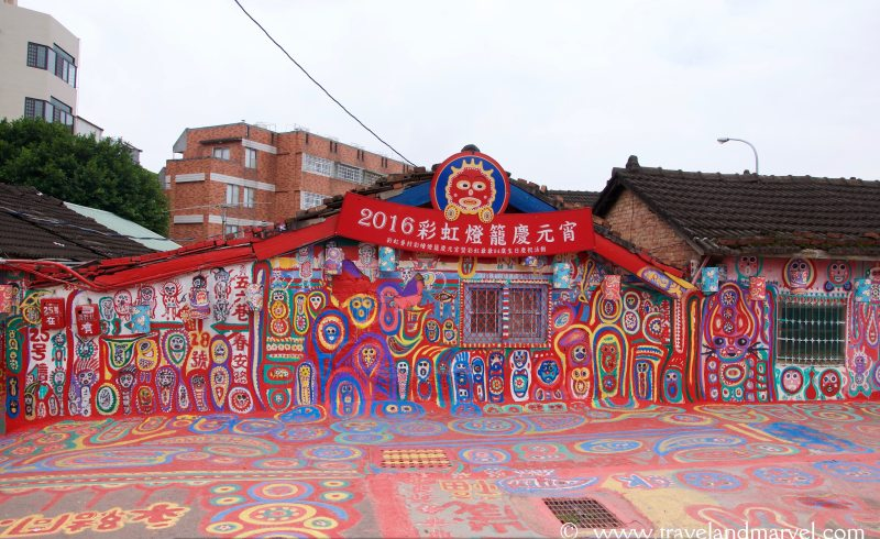 Taichung- Rainbow village