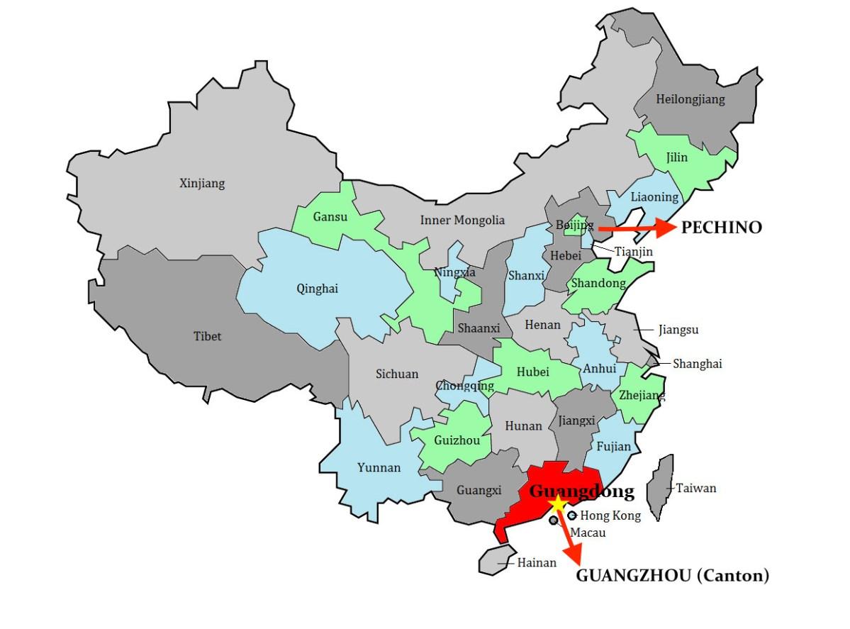 Guangzhou (Canton) 广州 : la città delle capre