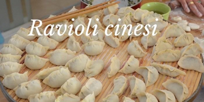 Ravioli cinesi fatti in casa: ricetta facile