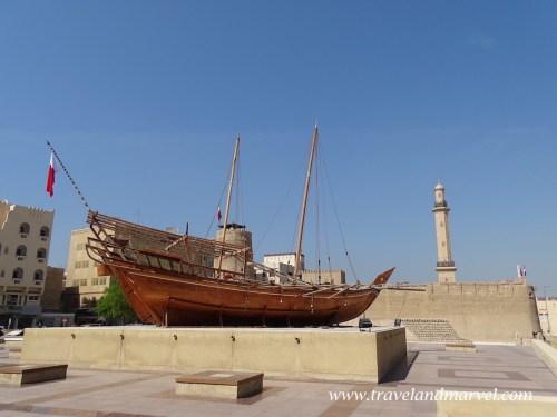 Dubai museum - Dubai vecchia - itinerario Dubai