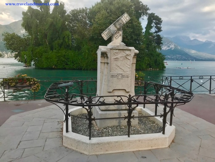 Annecy lago