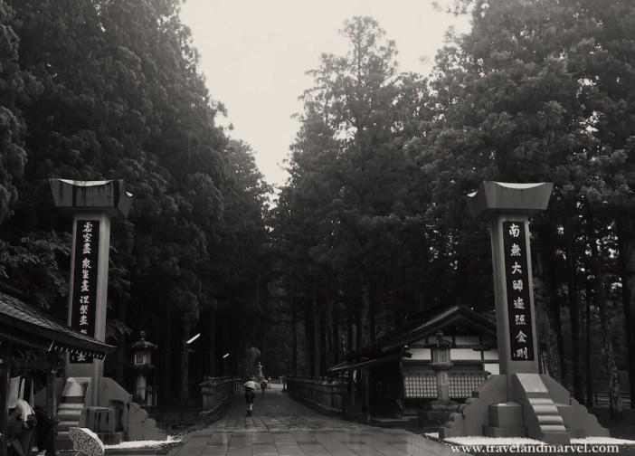 cimitero Okunoin Monte Koya