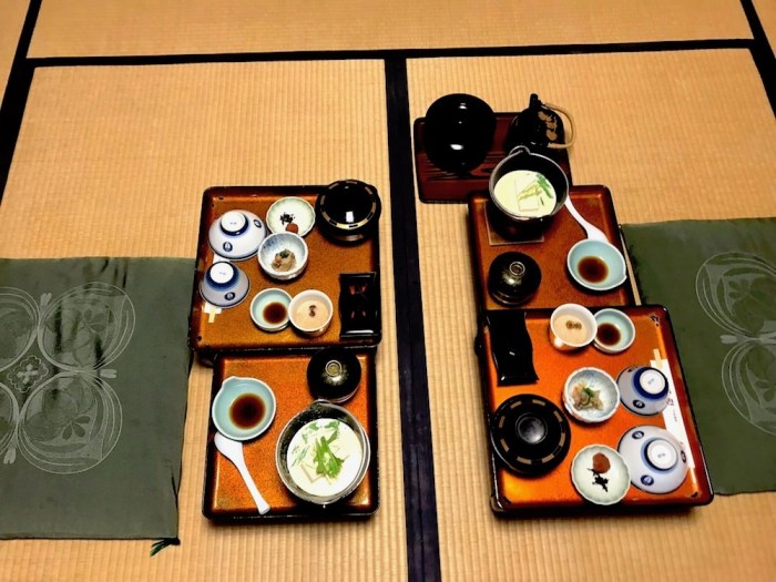 colazione ryokan Koyasan