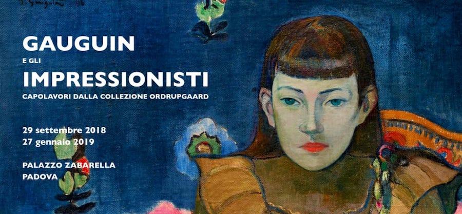 """Padova, Palazzo Zabarella: la mostra """"Gauguin e gli Impressionisti"""""""