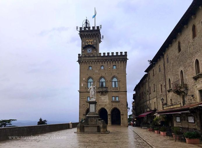 Piazza della Libertà San Marino