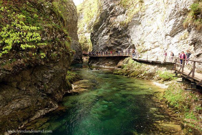 Slovenia Gola di Vintgar