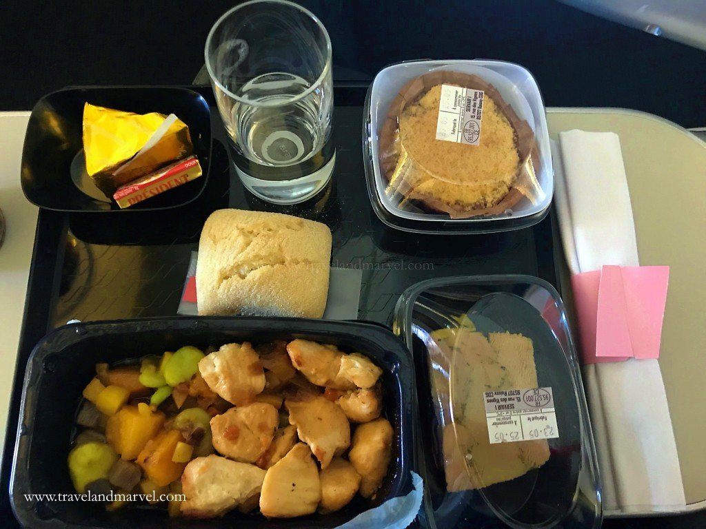 mangiare in aereo Airfrance