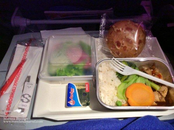 Cosa si mangia in aereo Aeroflot