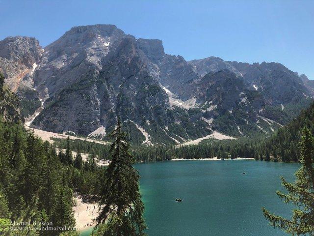 lago di Braies_Croda del Becco