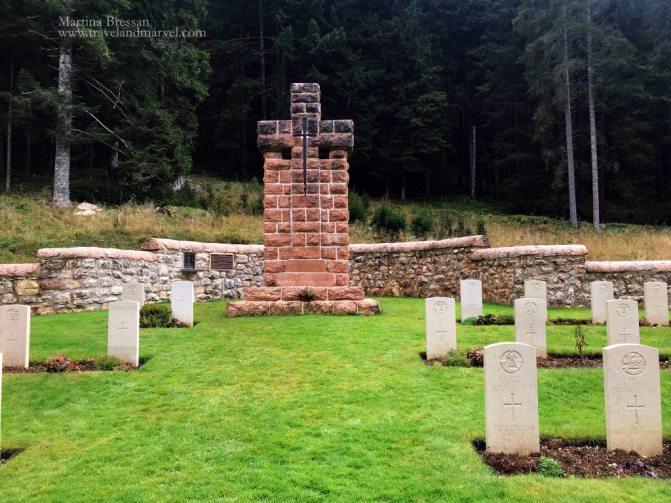Cimitero inglese del Barenthal