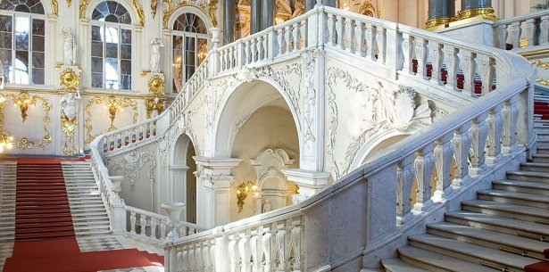 Tour virtuale dei musei: S. Pietroburgo Hermitage