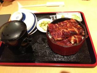 Grilled eel over rice, three ways - Hitsumabushi