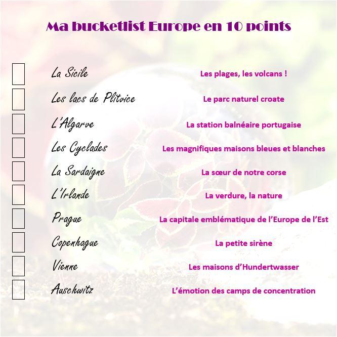 bucketlist-europe
