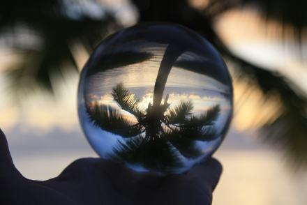 Lensball - Sunset - Aitutaki