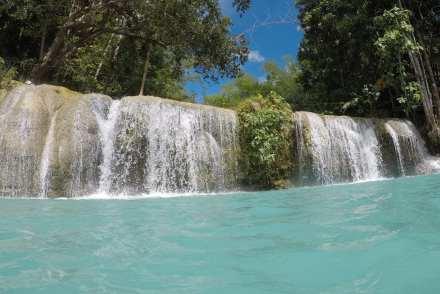 Cambu falls Siquijor Philippines