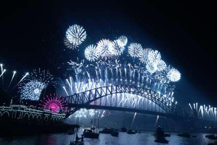 Fireworks Sydney Australie
