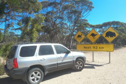 nullarbor signs Australie