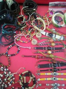 Peruvian beadwork