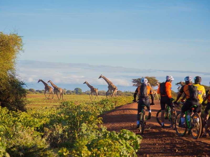 Tanzania Cycle Safari Tour Mountain Bike Around