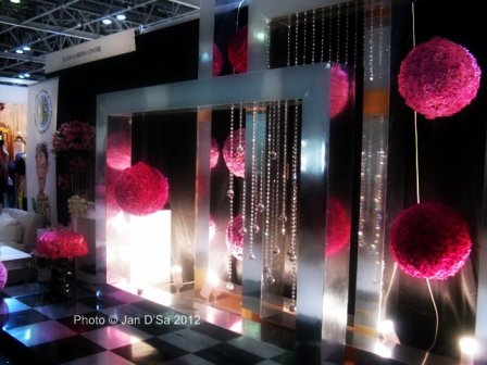 Disco styled wedding pavilion