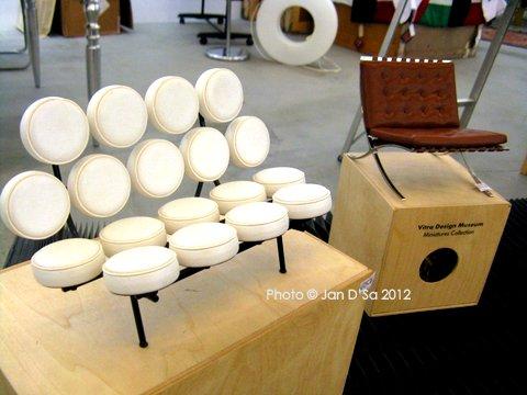 Mini furniture models