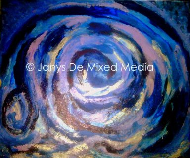 Astral Eclipse © Jan D'Sa Art 2012