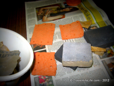 It's Buffing up time. You can choose sand papers of different grit sizes to buff the rough edges, but best advice is to go gentle.