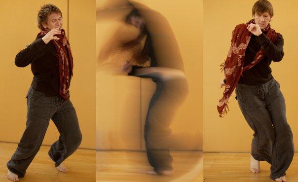 Alex, one of the instructors of Zero Point, demonstrates the freedom of the dance practice. Photos courtesy: Irina Krivoshekova
