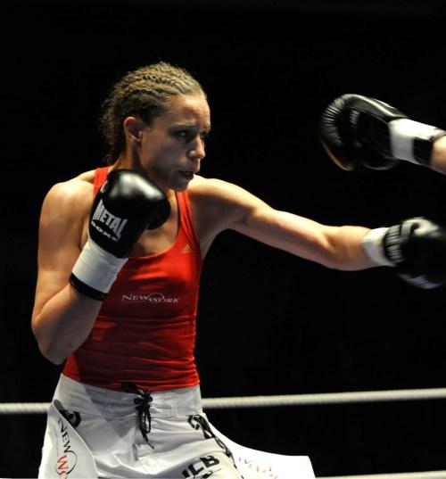 Olivia Boa the boxer turned artist