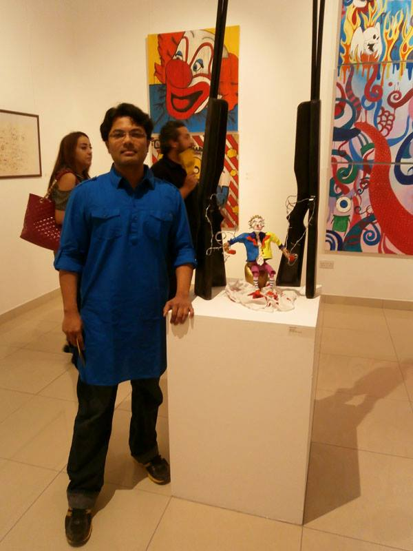 Ashvin as seen at DUCTAC's Gallery of Light Exhibition, Dubai