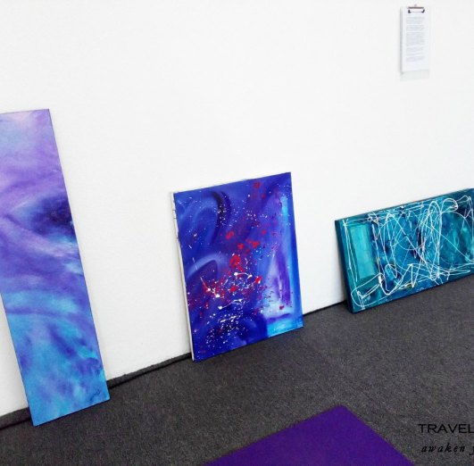 Intuitive paintings by Rana Haj-Daoud