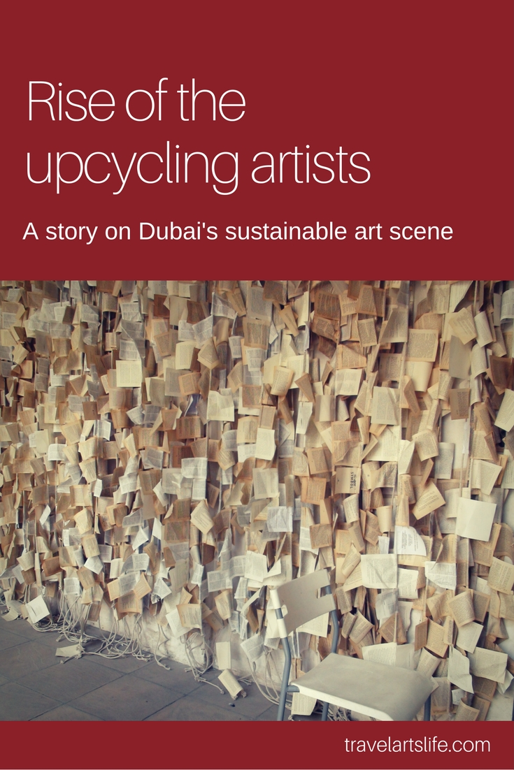 D Painting Exhibition In Dubai : Rise of the upcycling artists art in dubai abu dhabi uae