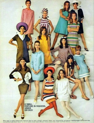 60's fashion blog travel.art.stories