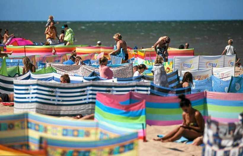 Захват земли по-польски: кто успел получить лучшее место на пляже