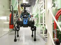 Швейцарского робота приняли на работу на морскую платформу