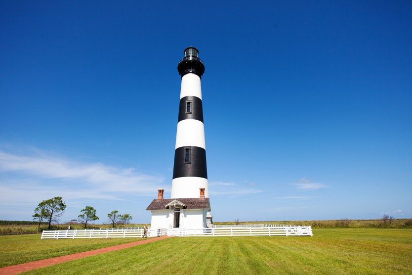 Bodie Island Light House in Outer Banks, North Carolina