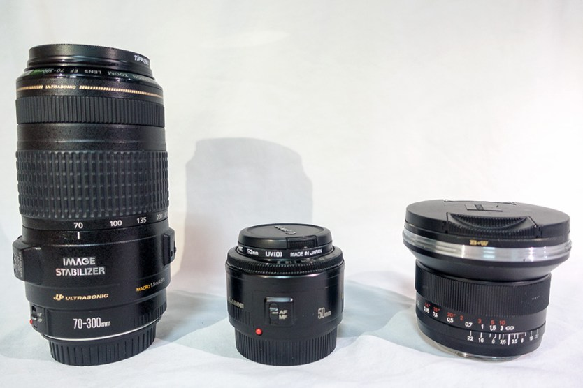 Travelationship's Photography Gear - Lenses