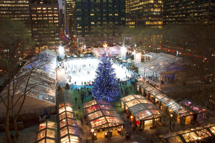Christmas Market in NYC
