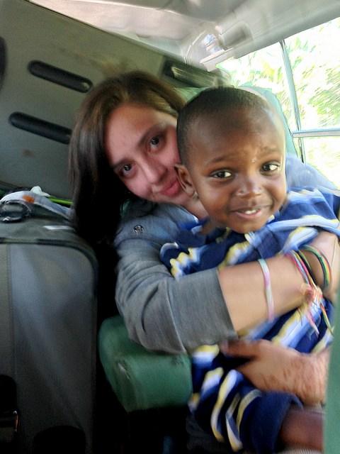 Volunteer Tanzania with Jade.