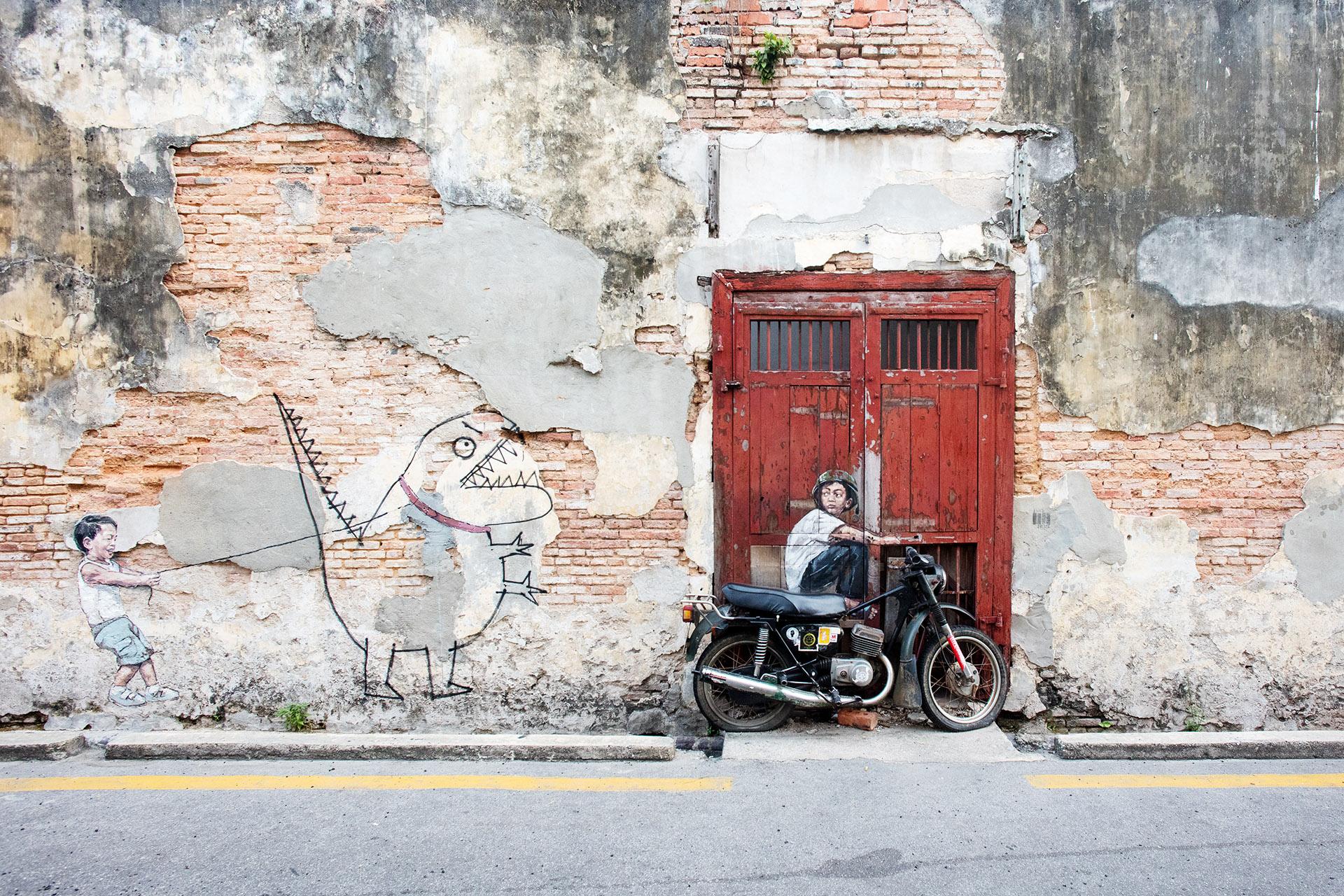 Street Art George Town Penang Malaysia