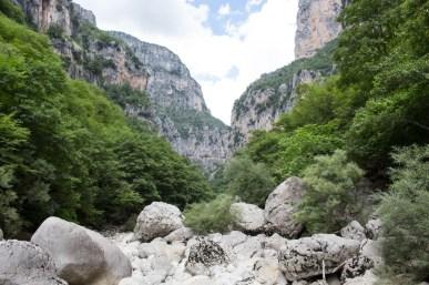 Koryto rzeki Voidomatis