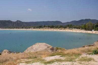 Plaża w okolicach kempingu