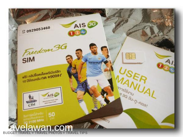 SIM Card dan Internet di Thailand, Pakai AIS Atau DTAC