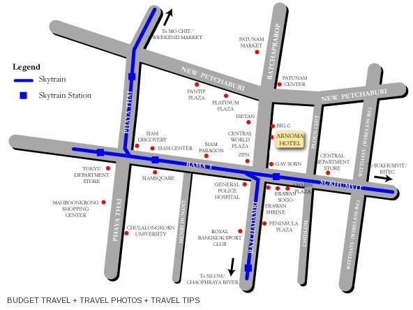 Arnoma Hotel Bangkok yang lokasinya sangat strategis di daerah Pratunam