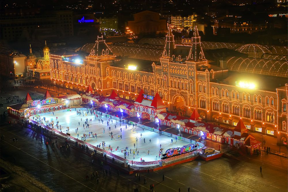 World's Most Spectacular Ice Skating Rinks   Travel Away